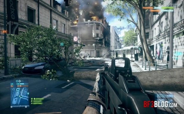 Battlefield 3 to feature Gun Dependent Bullet Drop?