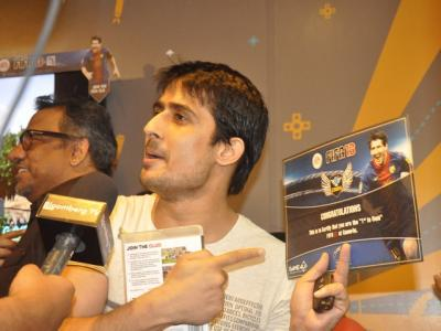 FIFA 13 witnessed a historic opening in India at Game4u