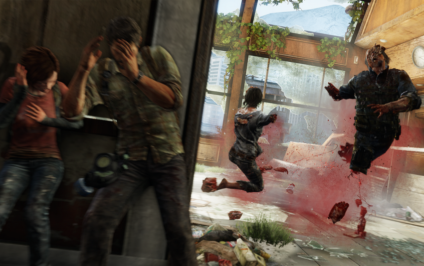 The Last of Us: Remastered PS4 vs PS3 comparison screen, graphics differences are incredible, 60 FPS demo out