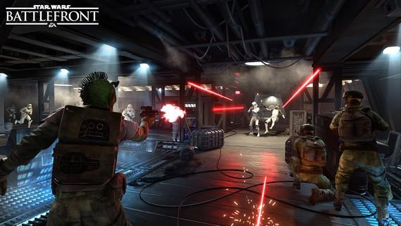 Epic Looking Star Wars: Battlefront II Space Battles Teaser Trailer Leaked