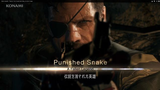 Metal Gear Solid V: The Phantom Pain New Ending Cut-Scene Discovered