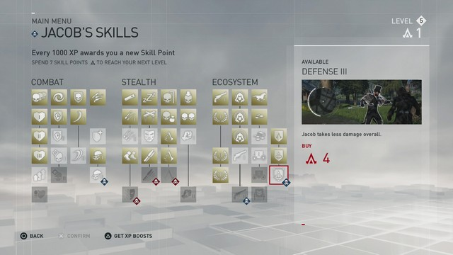 Assassin's Creed Syndicate Skill Points And Leveling Guide