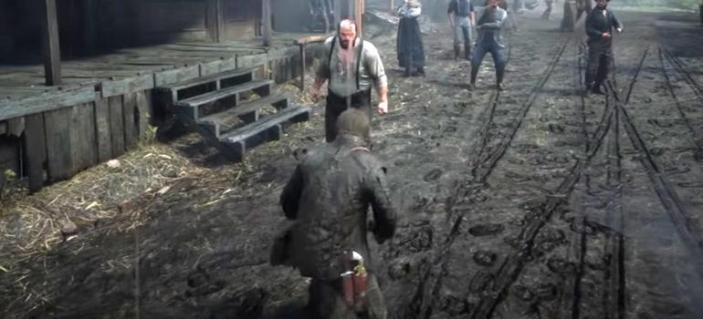 Red Dead Redemption 2   American's At Rest Walkthrough