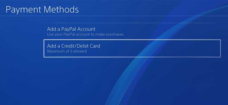 How To Add or Remove Credit Card and Billing Information On PS4