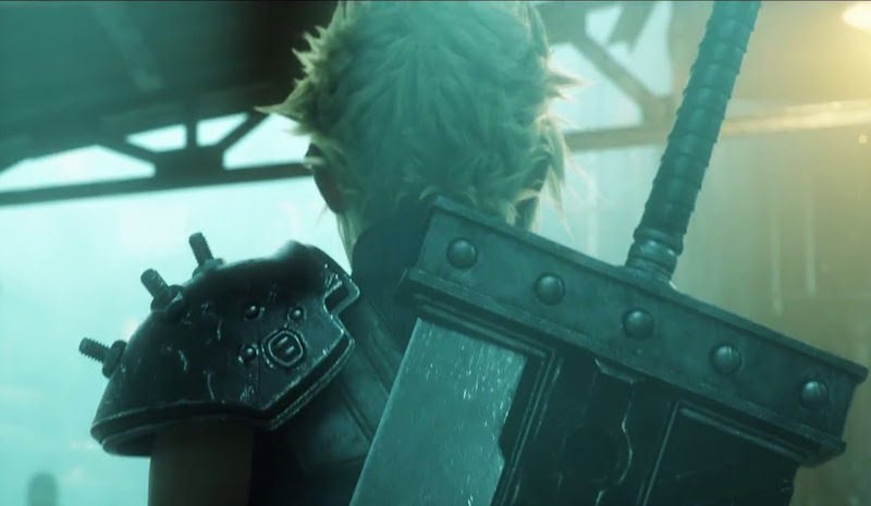 Final Fantasy VII Remake reveals new key visual featuring main characters