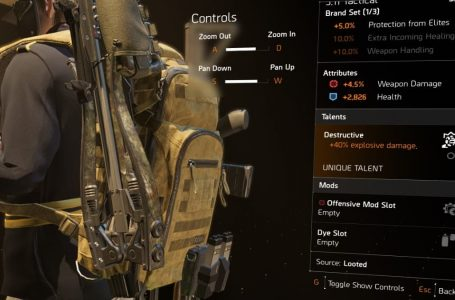 The Division 2: Equipment and Weapon Talents Explained