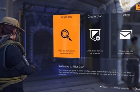 How to unlock clans and create them in The Division 2