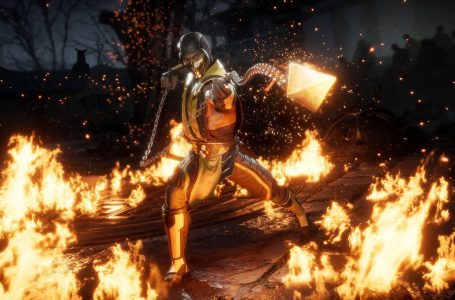 How many chapters does Mortal Kombat 11's story mode contain?