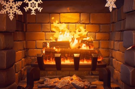How to earn Supercharged XP with the  Fireplace in Fortnite's Winterfest