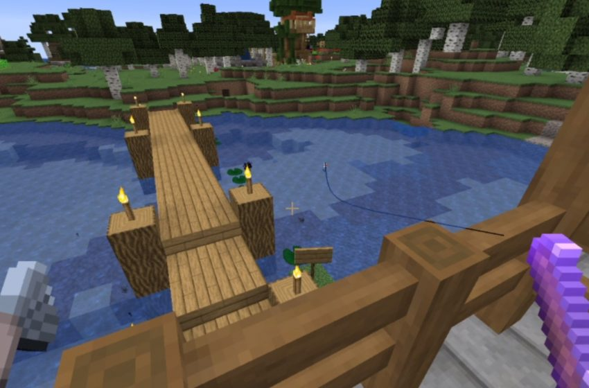 While Fishing in Minecraft, Twitch Streamer Gets Mocked by His Catch