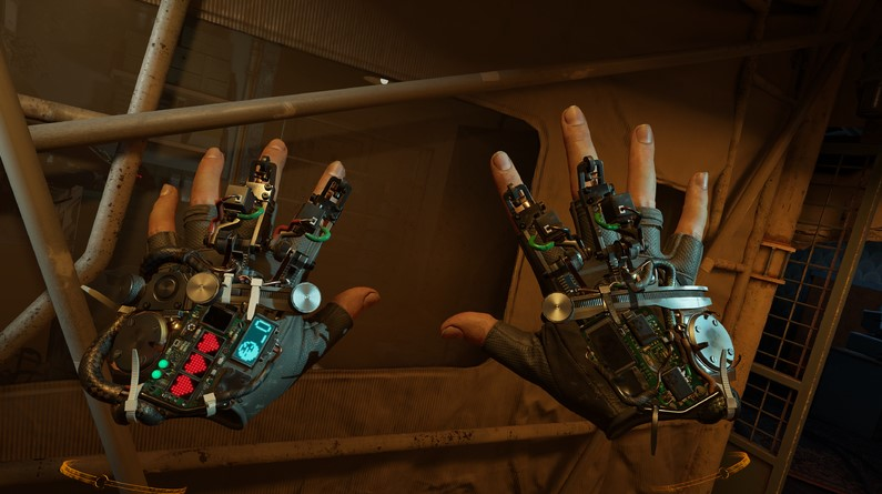 """Half-Life: Alyx Gameplay Shows Off """"Force Pull"""" Gravity Gloves"""