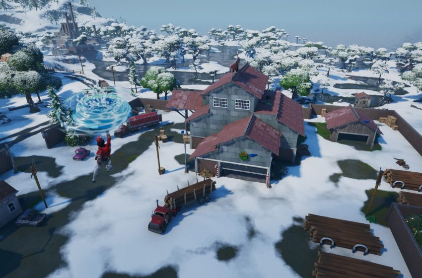 Where to Search Ammo Boxes at the Workshop, Shiver Inn, or Ice Throne in Fortnite