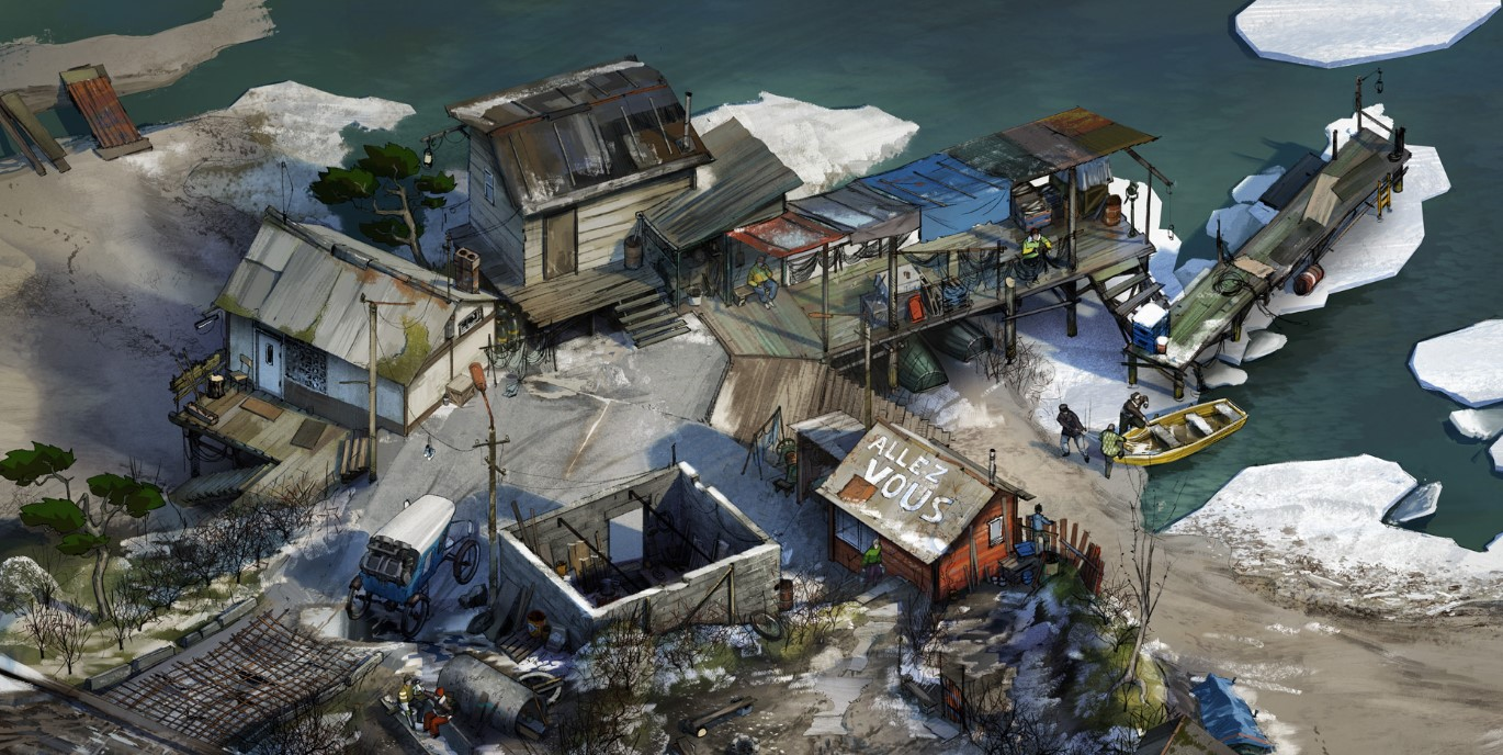 Disco Elysium gets hardcore, and now supports ultra-widescreen