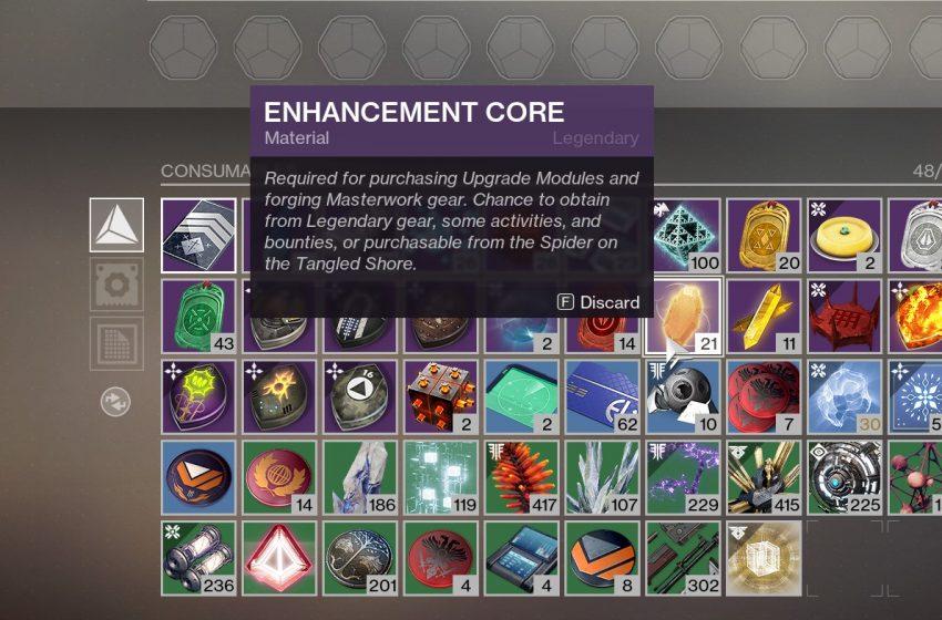 Enhancement Cores Destiny 2
