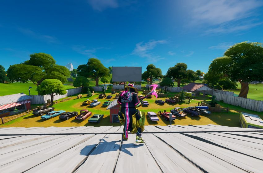 'Fortnite' Hidden Gnome Between Race Track, Cabbage Patch & Farm Sign Location Guide