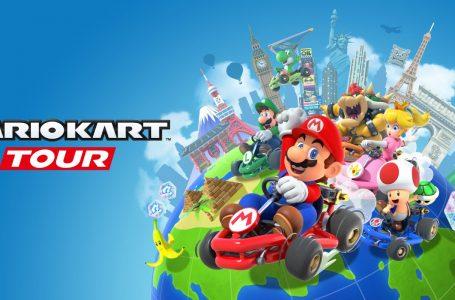 Mario Kart Tour's Valentine's Tour begins today