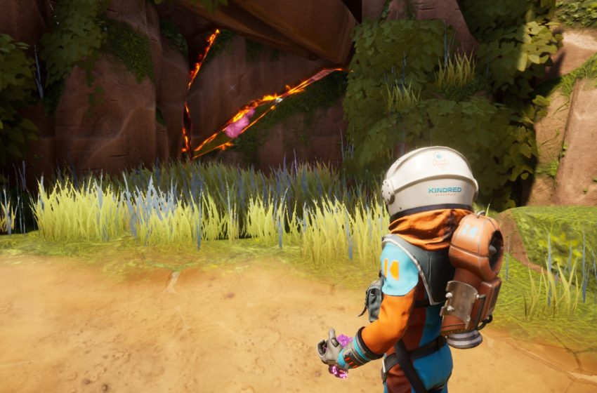 How to get past cracked walls in Journey to the Savage Planet