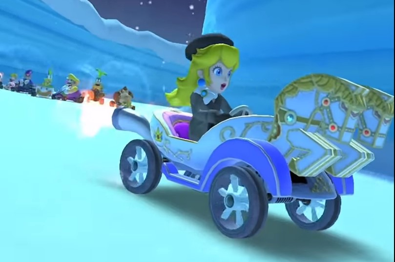 How to Pass Through 10 Rings Created by a Dash Ring item in Mario Kart Tour
