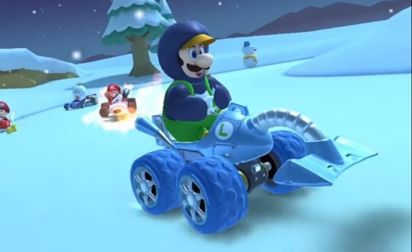 Drivers Crash 5 Times Underwater Mario Kart Tour