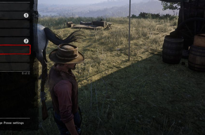 How to do Posse Infighting Challenge in Red Dead Redemption 2