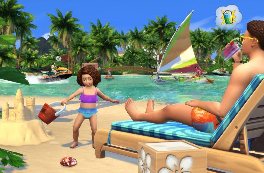 Sims 4 Island Living Beach