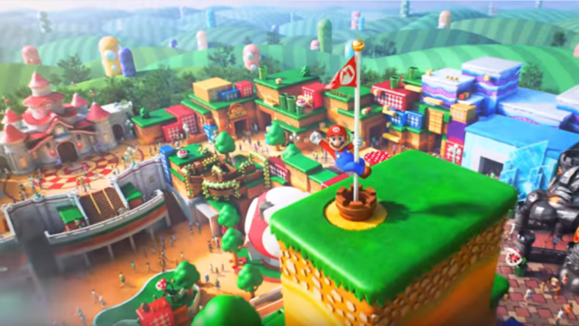Universal's Epic Universe will have a Super Nintendo World