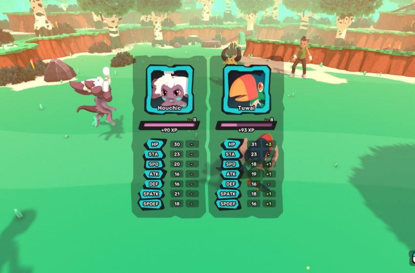 Is there EXP share in Temtem?
