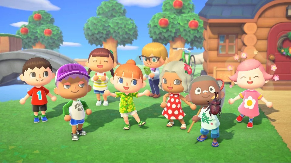 Animal Crossing: New Horizons animals can wear long sleeves