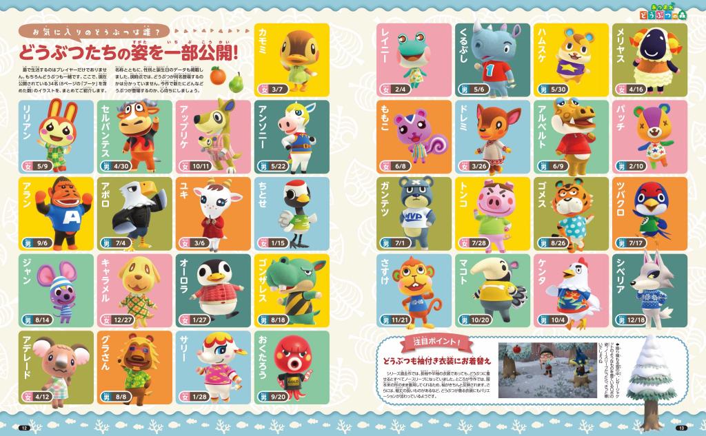 Animal Crossing Animal clothing