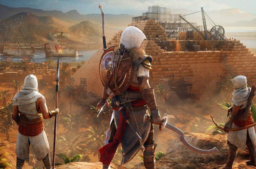 Assassin's Creed: Origins – Legendary ISU Armor in Secret Sphinx Tomb