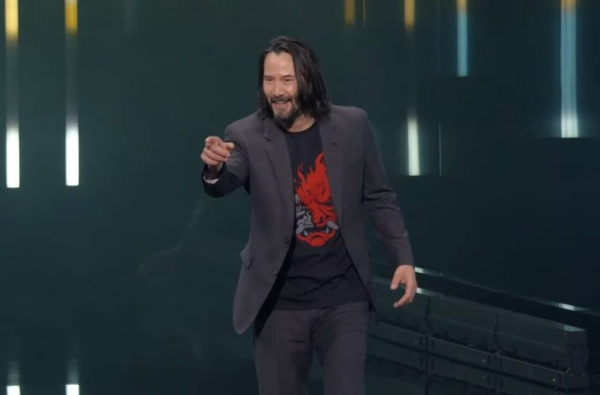 A lucky CDPR employee is getting a Cyberpunk 2077 guitar signed by Keanu Reeves