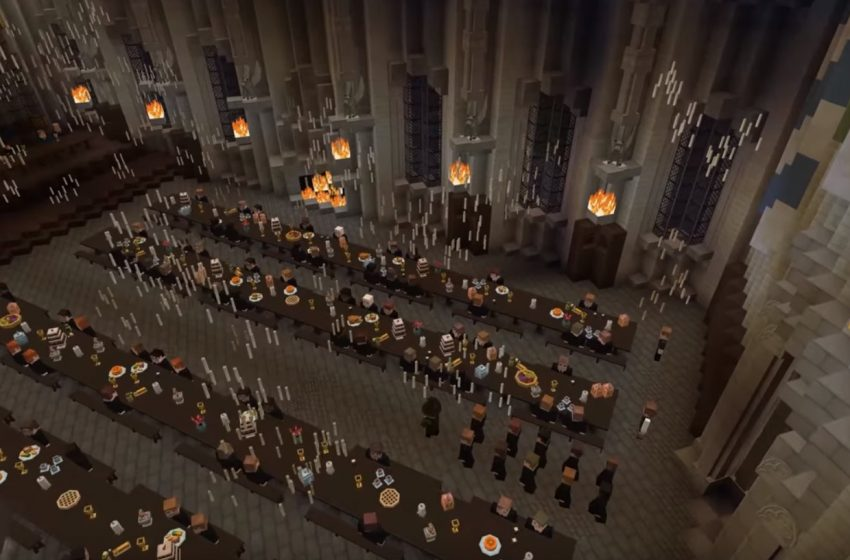 Modders Build an Incredible Harry Potter World in Minecraft