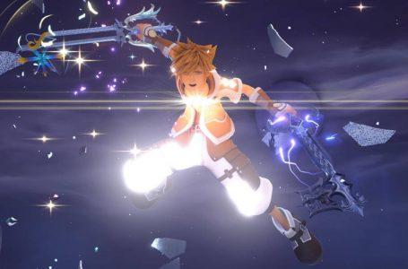 A Watermark Can Be Seen In Kingdom Hearts III