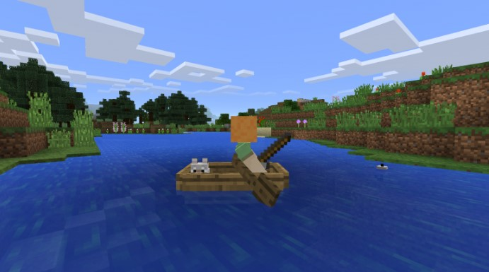 Crafty Minecraft Player Discovers Travel Is Faster by Boat Than Mine Cart