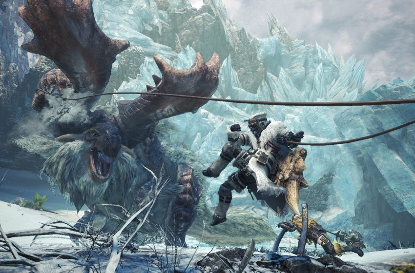 Monster Hunter World: Iceborne is Getting a New Volcanic Region in First Free Update