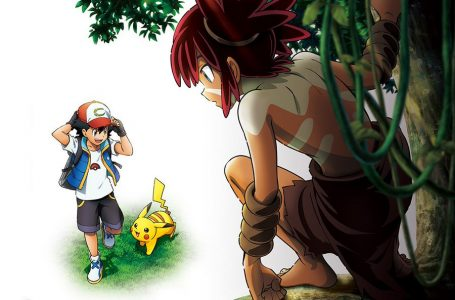 New Pokemon anime movie shows Ash meeting a wild new character
