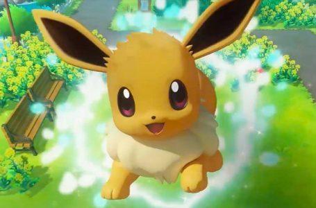 Pokemon Let's GO Pikachu & Eevee Version Exclusive Pokemon