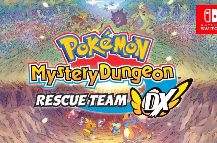 Nintendo Surprises Fans with Pokémon Mystery Dungeon Rescue Team DX, Out in March