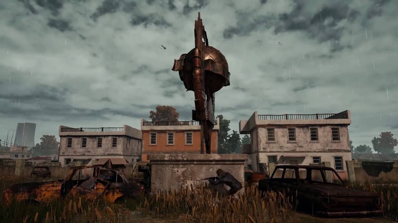How To Get Down From Cosmodrome Launch Station Pubg