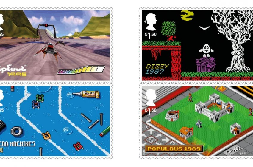 Tomb Raider, Lemmings, Wipeout, and More Honored By U.K.'s Royal Mail With New Stamps