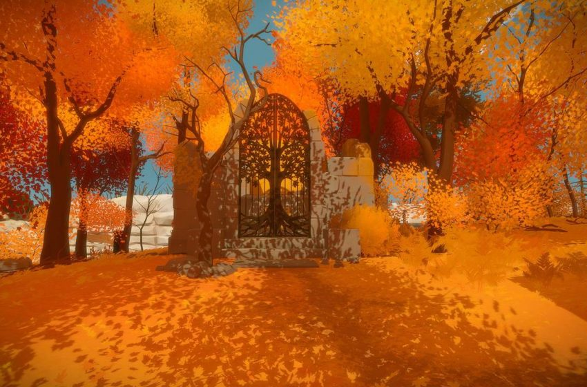 The Witness: Walkthrough Part 1 – The Opening hallway, Garden and The First Puzzle