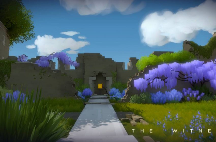 The Witness: Walkthrough Part 9 – Fall Forest and Shady Orange Tress