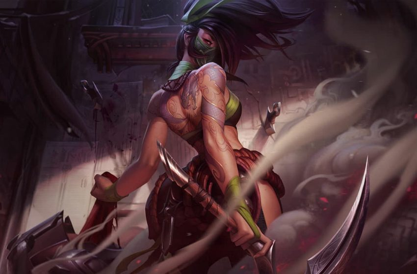 Modder brings Akali from League of Legends into Risk of Rain 2