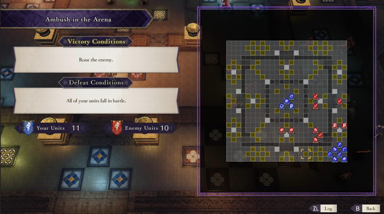 Ambush in the Arena Map