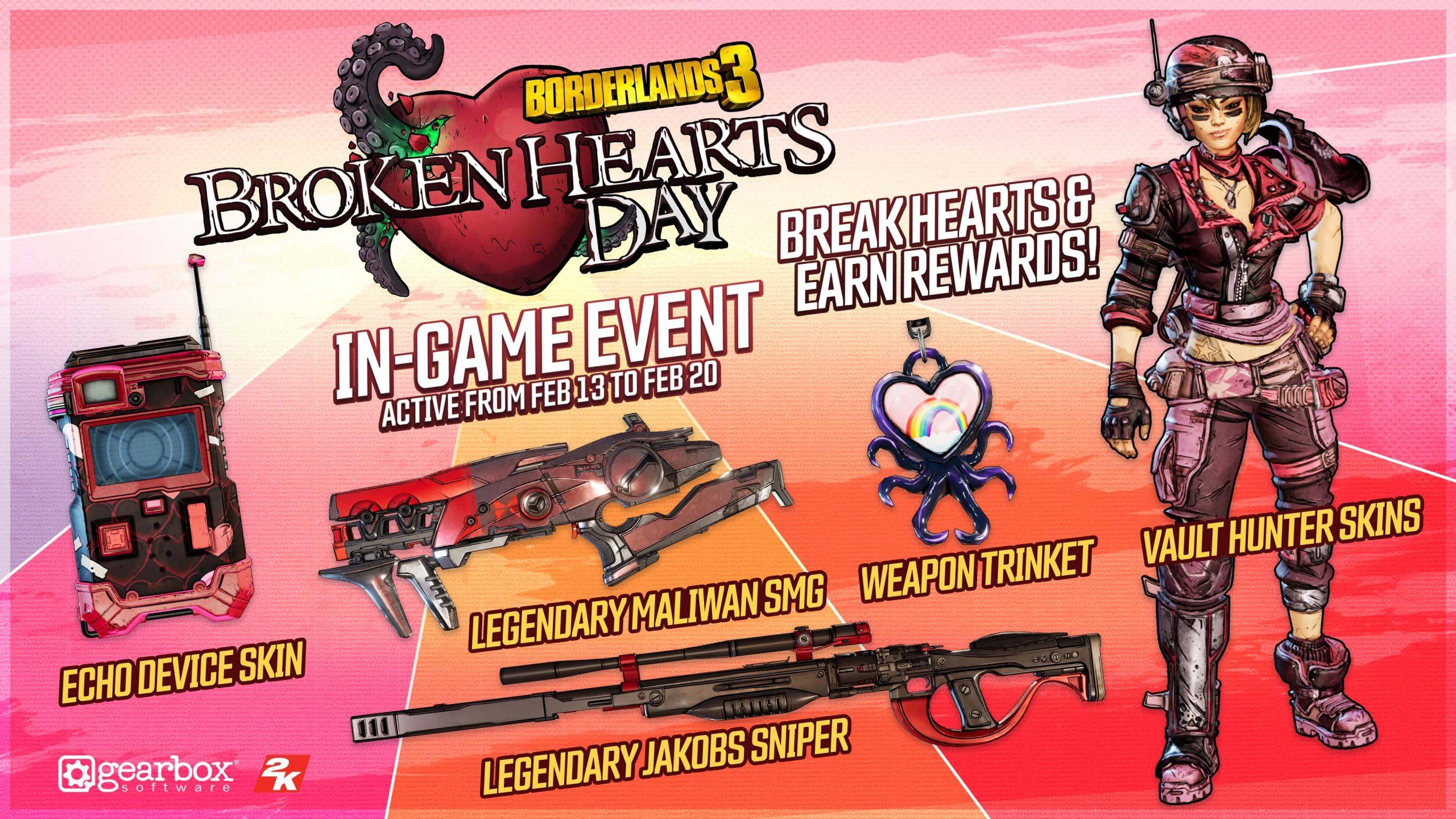 Broken Hearts Day Rewards
