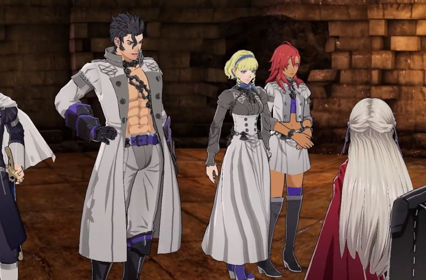 How to start the Cindered Shadows DLC in Fire Emblem: Three Houses