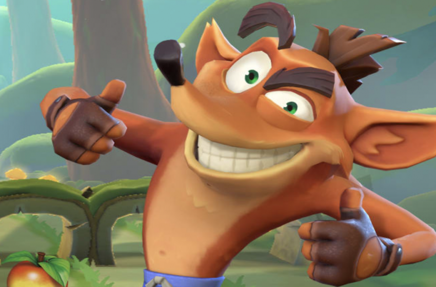 Crash Bandicoot mobile game screenshots leaked