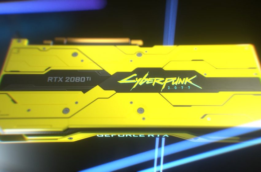 How to get the Limited Edition Cyberpunk 2077 Nvidia RTX 2080 Ti