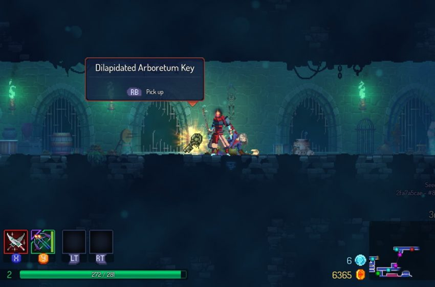 How to get the Dilapidated Arboretum Key in Dead Cells The Bad Seed