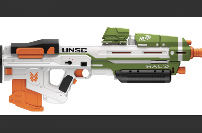 Nerf introduces three new Halo-licensed Blasters to coincide with the release of Infinite